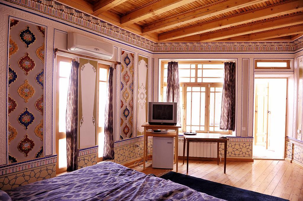 Chambre double Hôtel Minzifa Boukhara 22