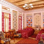 Chambre twin Hôtel Minzifa Boukhara 4