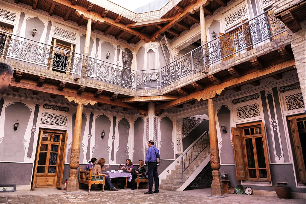 Hôtel Minzifa Boukhara 12