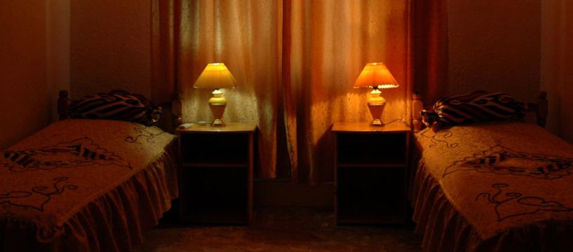 Chambre twin Hôtel Caravan Serail Samarkand