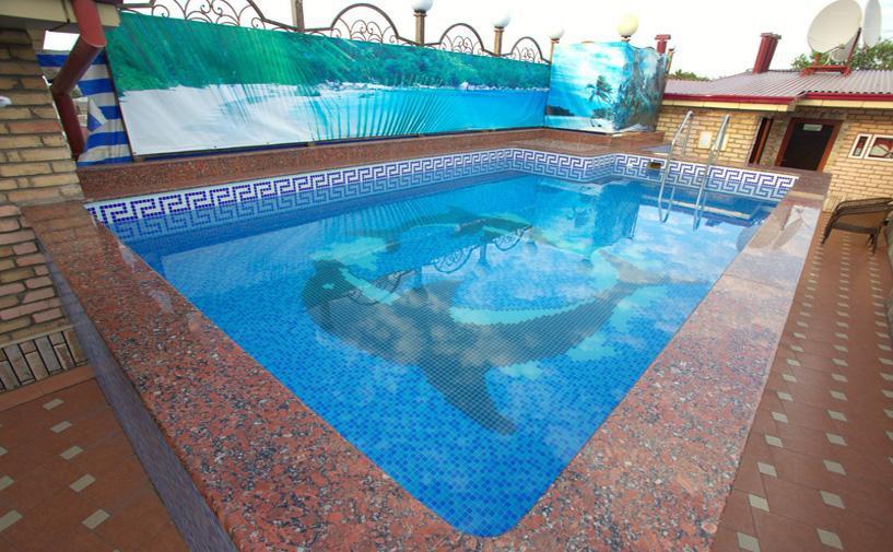 Piscine ouverte Hôtel Grand Samarkand Superior