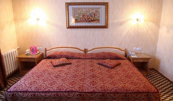 Chambre double Hôtel Asia Boukhara 9