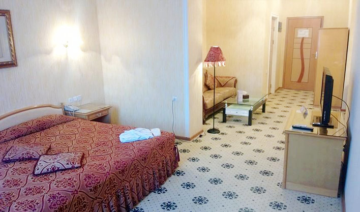 Chambre double Hôtel Asia Boukhara