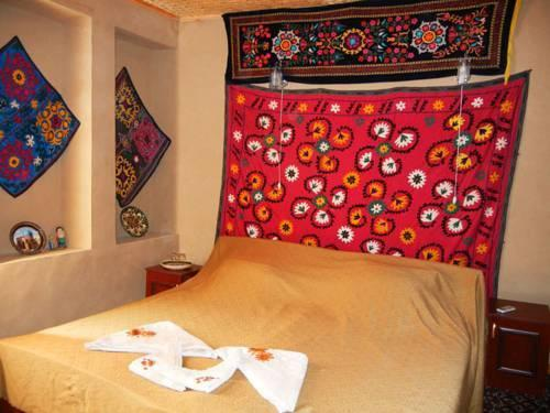 chambre double Hôtel de charme Jahongir B&B Samarkand 10