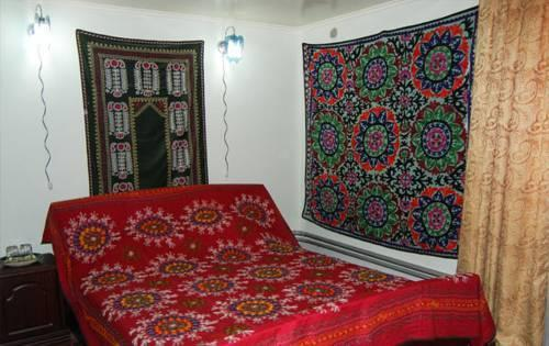 chambre double Hôtel de charme Jahongir B&B Samarkand