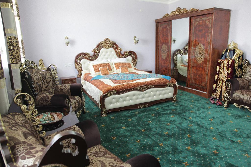 Chambre double Hôtel Kibla Tozabog Khiva 7