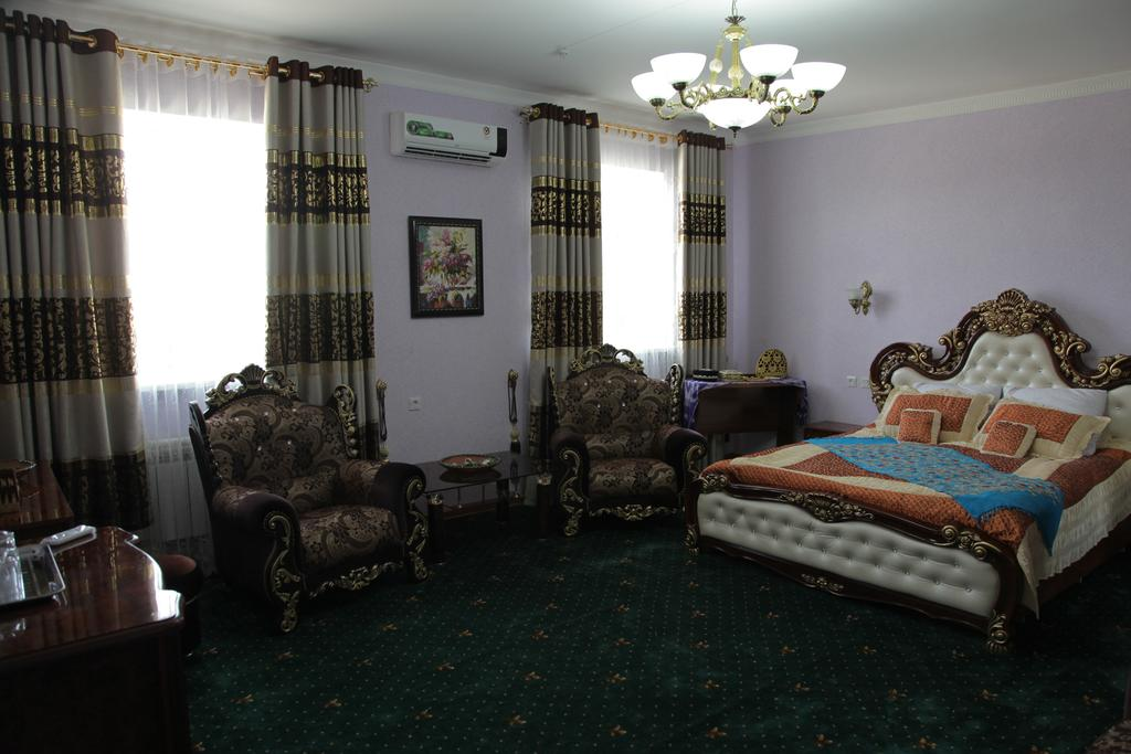 Chambre double Hôtel Kibla Tozabog Khiva 9