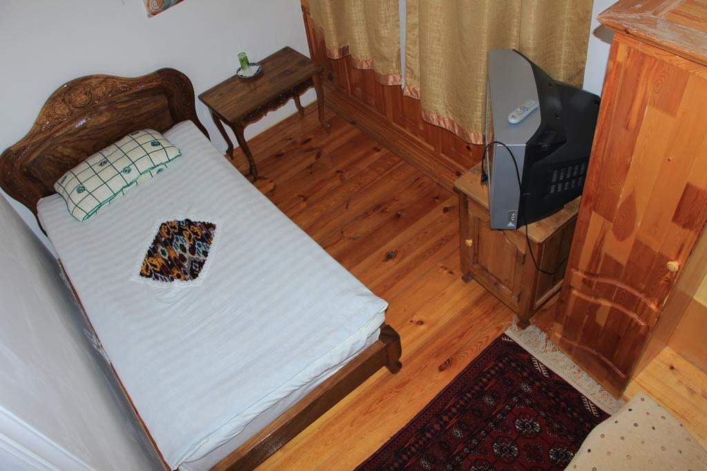 Chambre individuelle Hôtel Chaherezada Khiva
