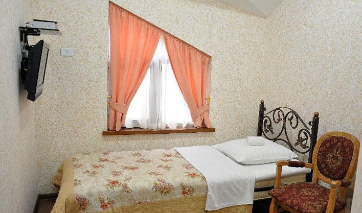 Chambre individuelle Hôtel Khan Kokand