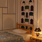 Chambre individuelle Hôtel Komil Boukhara