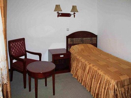 Chambre individuelle Hôtel Shahrisabz Yulduzi