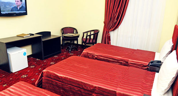 Chambre triple Hôtel Rangrez Boukhara