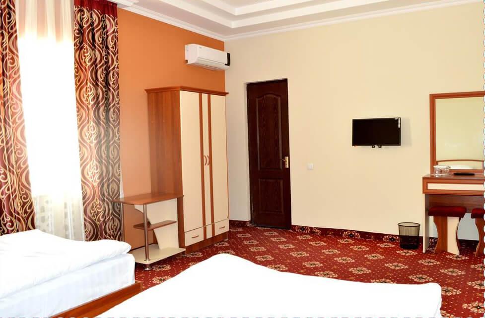 Chambre twin Hôtel Arkontchi Khiva