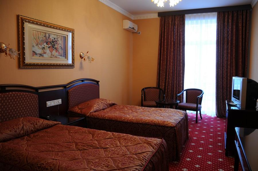 chambre twin Hôtel Asia Samarkand