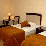 chambre twin Hôtel Bek Tachkent