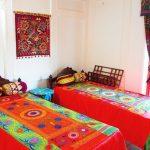 Chambre twin Hôtel Bibi Honim Boukhara