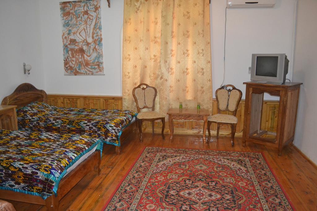 Chambre twin Hôtel Chaherezada Khiva 16