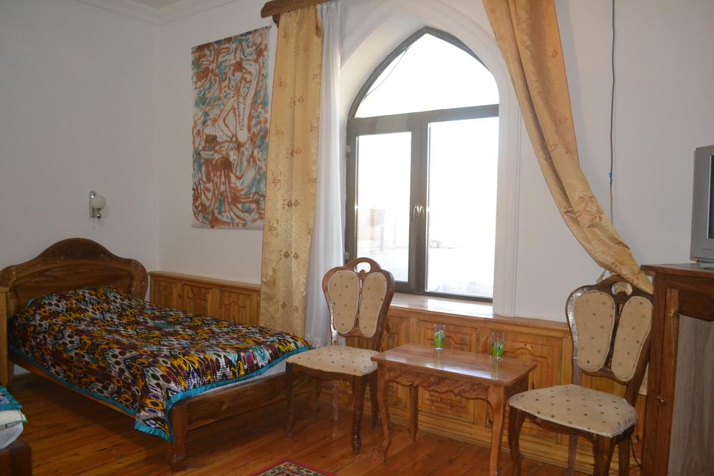Chambre twin Hôtel Chaherezada Khiva 17