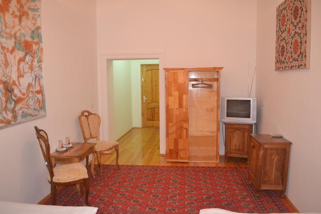 Chambre twin Hôtel Chaherezada Khiva