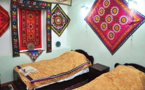 chambre twin Hôtel de charme Jahongir B&B Samarkand 7