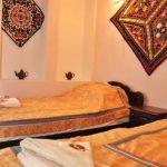 chambre twin Hôtel de charme Jahongir B&B Samarkand 9