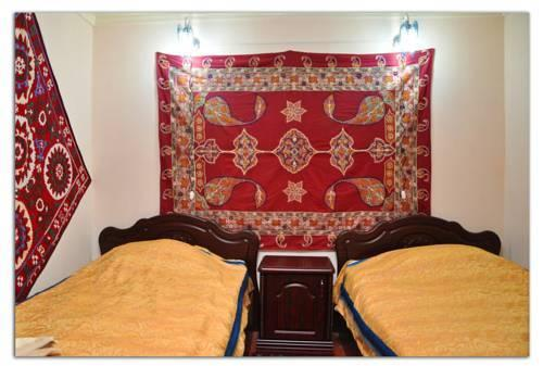 chambre twin Hôtel de charme Jahongir B&B Samarkand