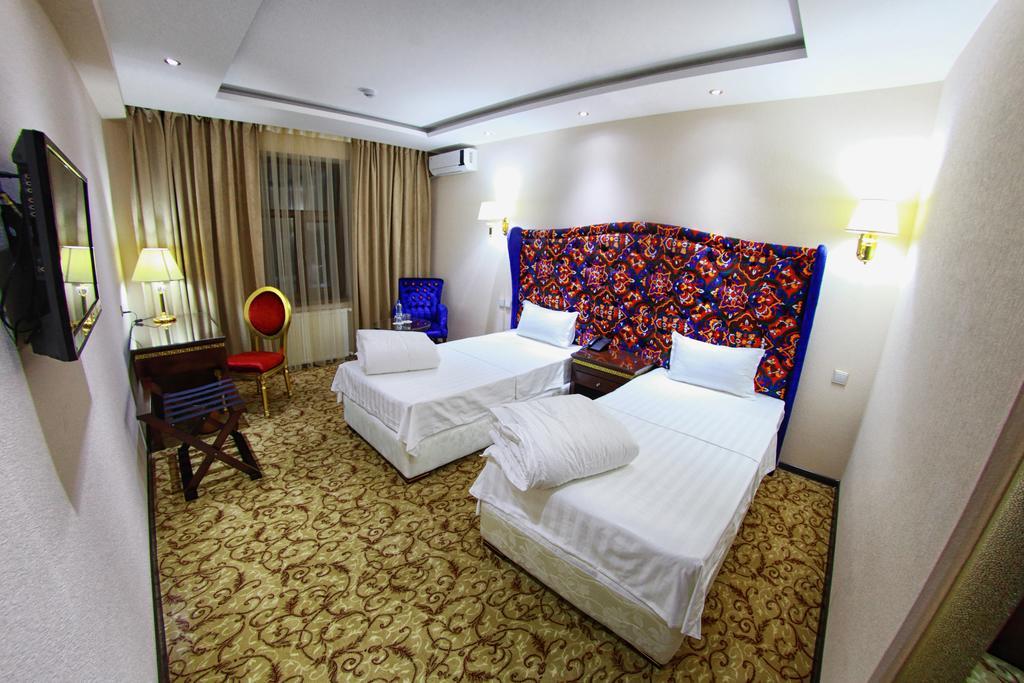 Chambre twin Hôtel Emirkhan Samarkand 20