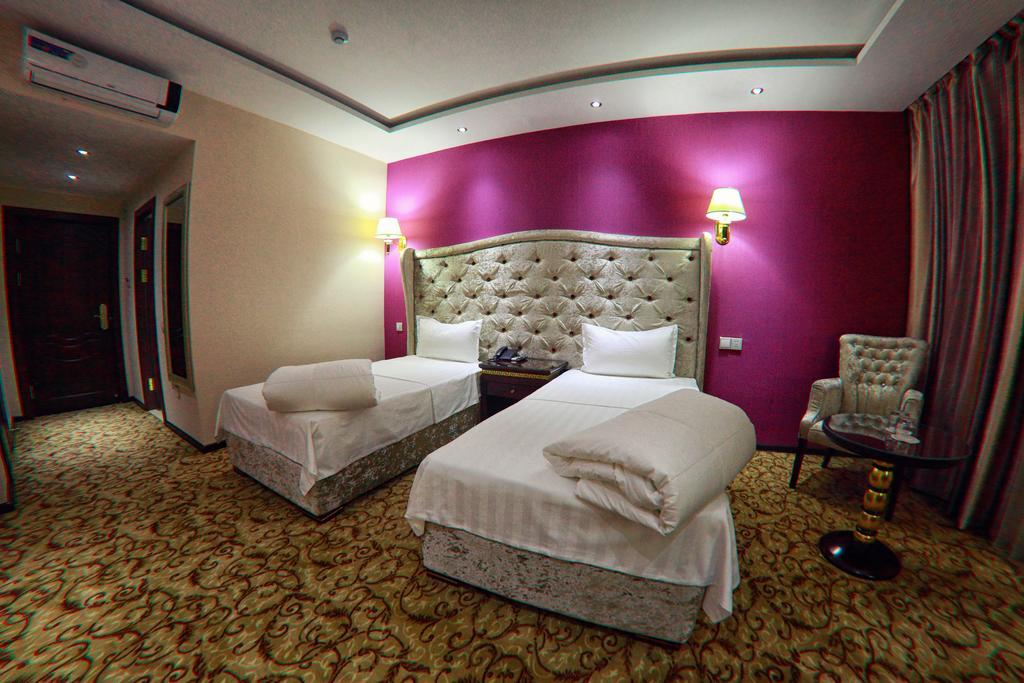 Chambre twin Hôtel Emirkhan Samarkand