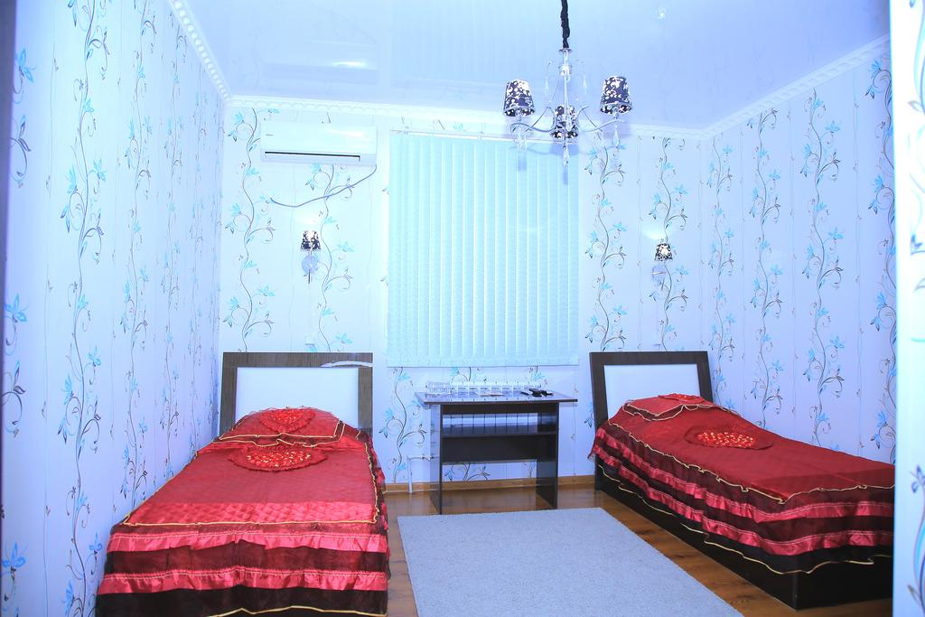 Chambre twin Hôtel Euroasia Khiva 10