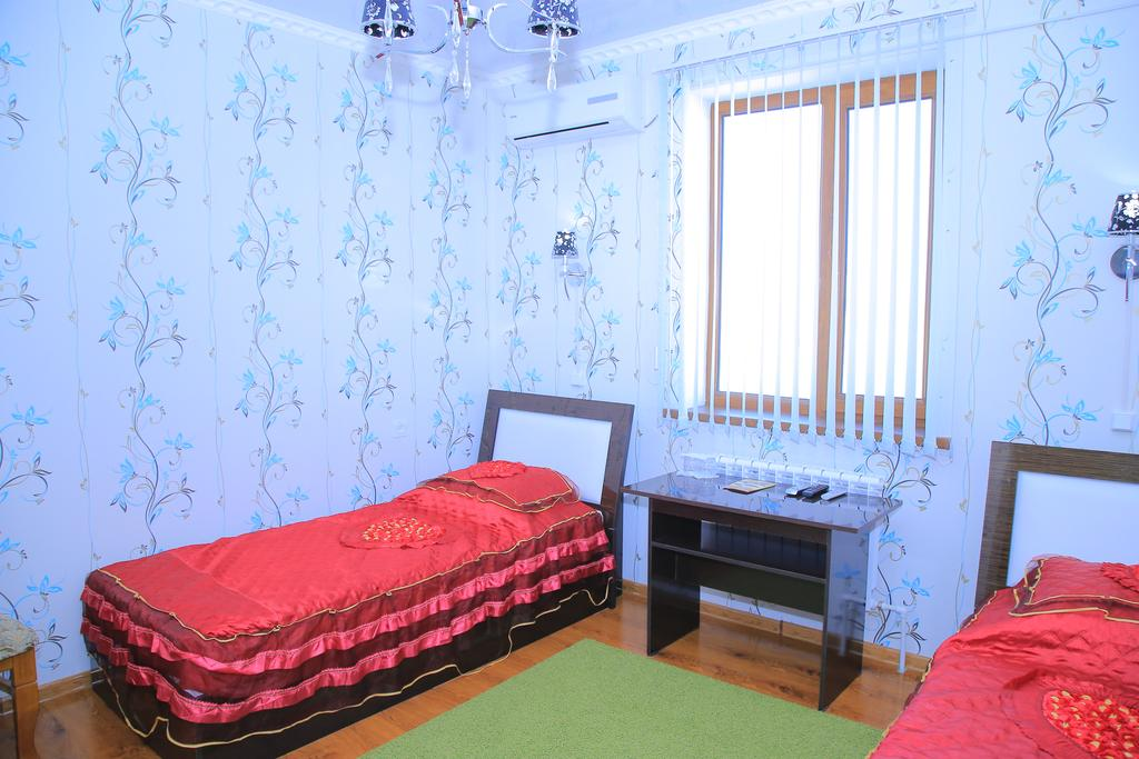 Chambre twin Hôtel Euroasia Khiva 16