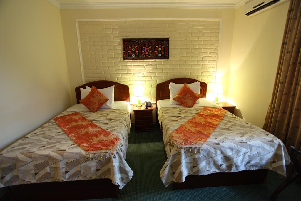 Chambre twin Hôtel Grand Samarkand