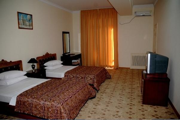 Chambre twin Hôtel Kabir Boukhara