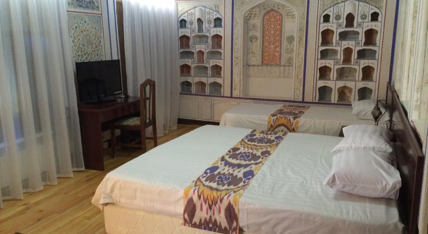 Chambre twin Hôtel Kavsar Boukhara 16