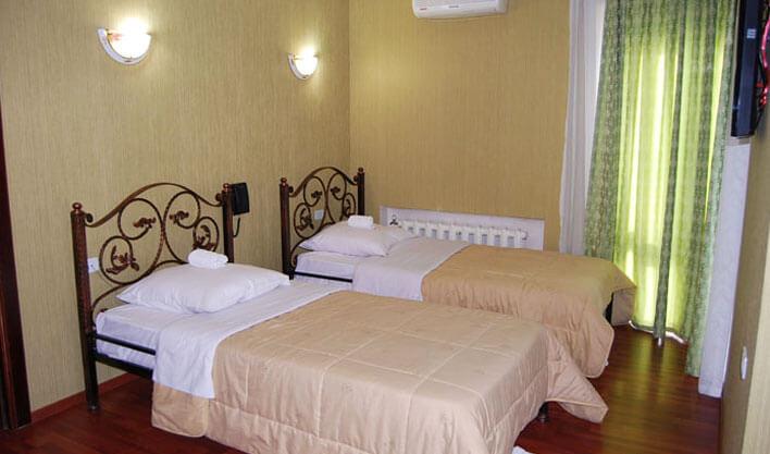 Chambre twin Hôtel Khan Kokand 9
