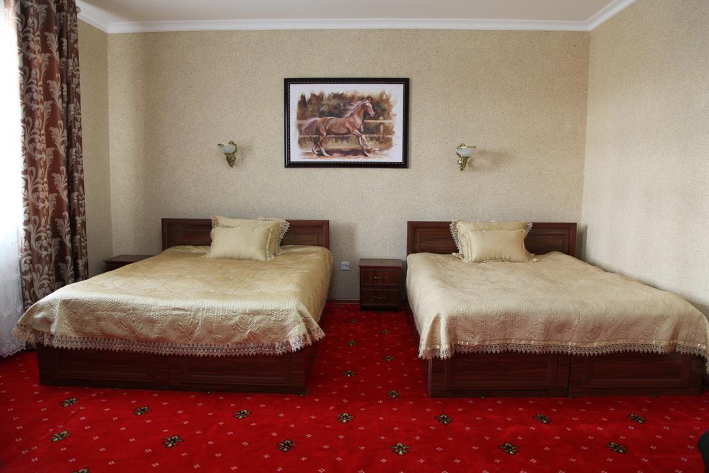 Chambre twin Hôtel Kibla Tozabog Khiva 4