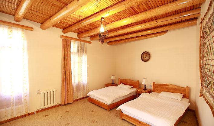 Chambre twin Hôtel Lyabi Hause Boukhara