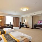 chambre twin Hôtel Miran International Tachkent
