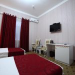 Chambre twin Hôtel Modarihon Boukhara 4