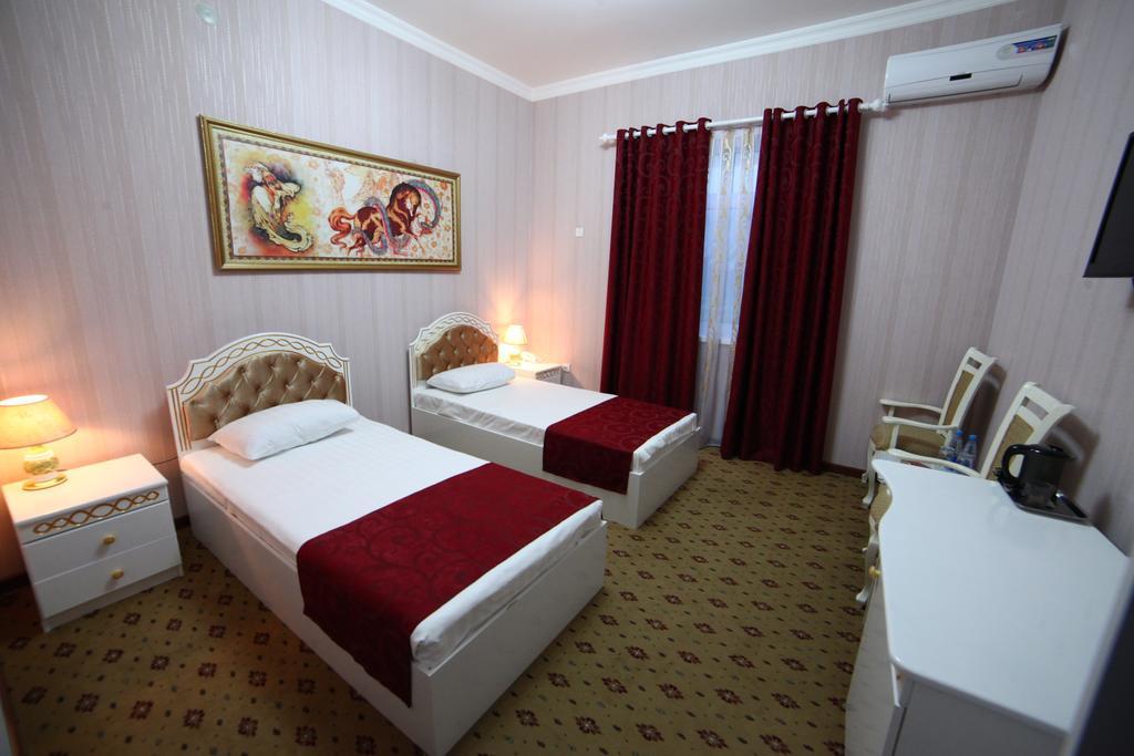 Chambre twin Hôtel Modarihon Boukhara