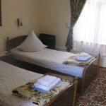 Chambre twin Hôtel Nazira&Azizbek Boukhara