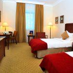 chambre twin Hôtel Radisson Tachkent