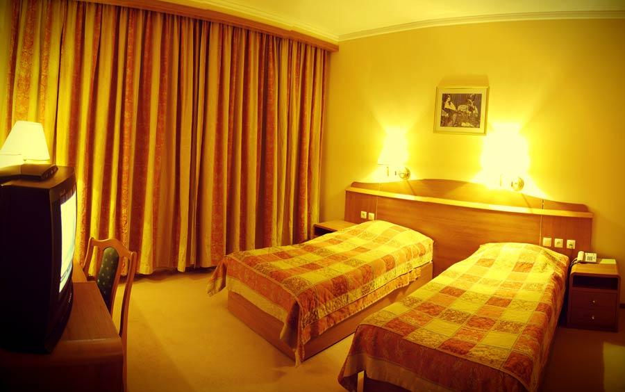 chambre twin Hôtel Registan Plaza