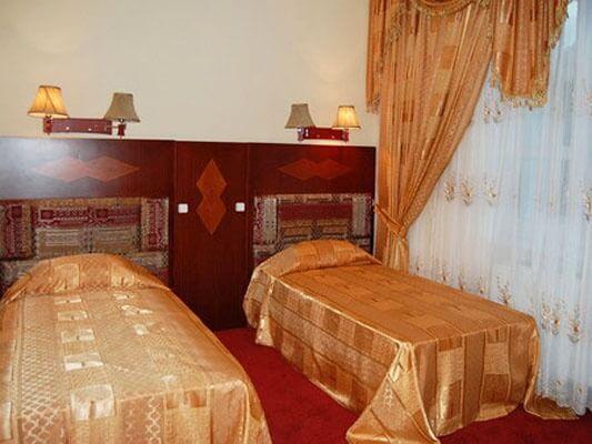 Chambre twin Hôtel Shahrisabz Yulduzi 1