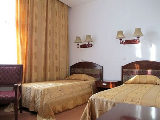 Chambre twin Hôtel Shahrisabz Yulduzi