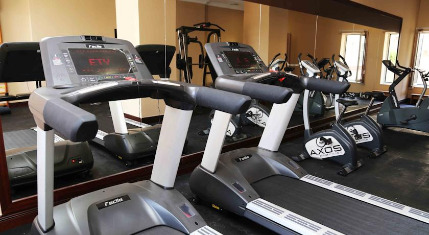 Gym Hôtel Lotte City Hôtel Tachkent Palace 22