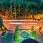 la cour de l'Hôtel Ramada Tachkent