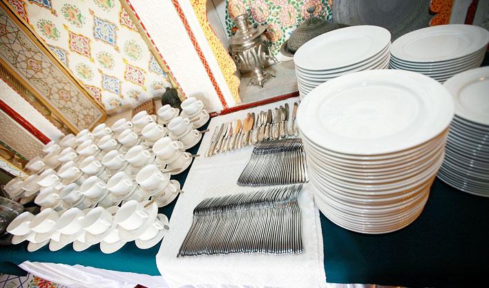 La cuisine Hôtel Lyabi Hause Boukhara
