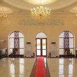 La halle Hôtel Kibla Tozabog Khiva