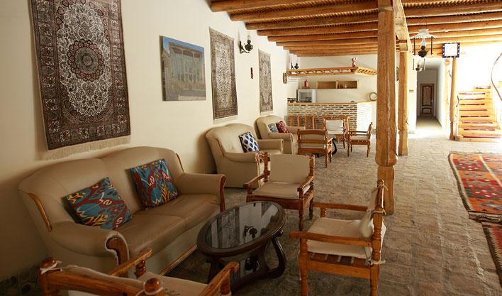 LA halle Hôtel Lyabi Hause Boukhara 3
