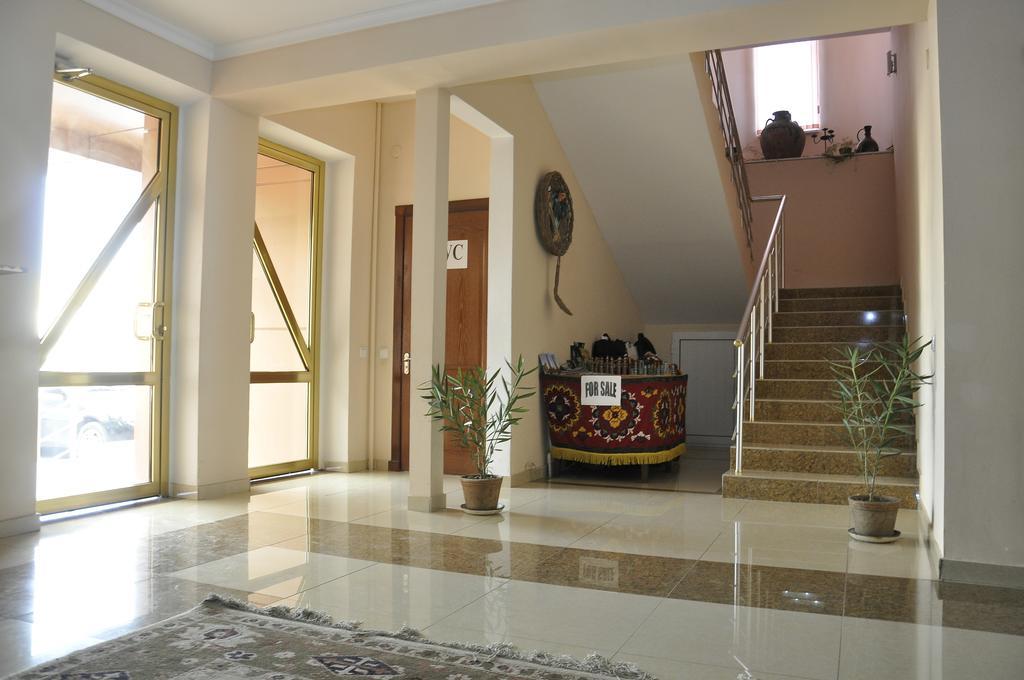 La halle Hôtel Madrasa Aminkhan Khiva